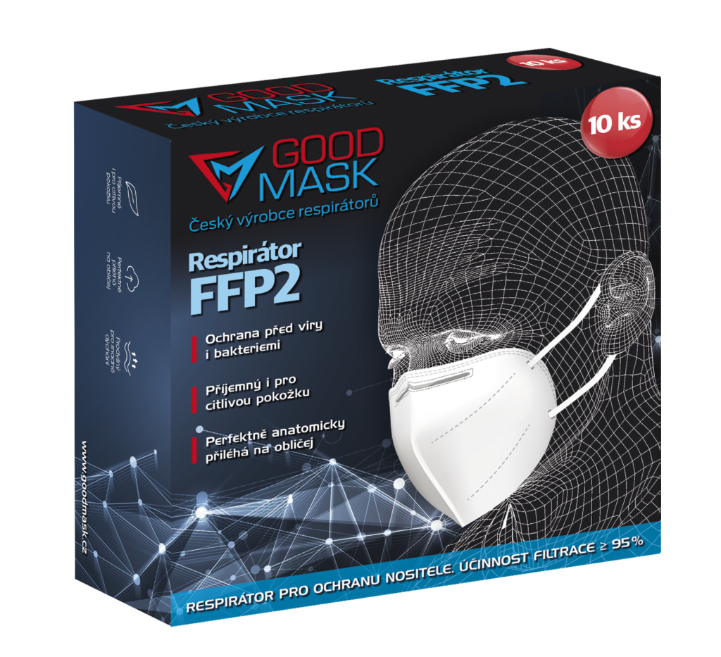 Respirátor FFP 2 Good Mask