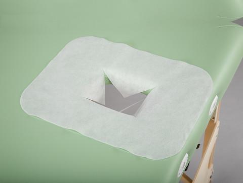 Jednorázová pokrývka otvoru lehátka - balení 15 ks nebo 100 ks