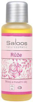 Fotografie Růže masážní olej Saloos 50 ml, 125 ml, 250 ml, 500 ml, 1000 ml