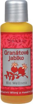 Granátové jablko Wellness masážní olej Saloos 50ml, 125ml, 250ml, 500m