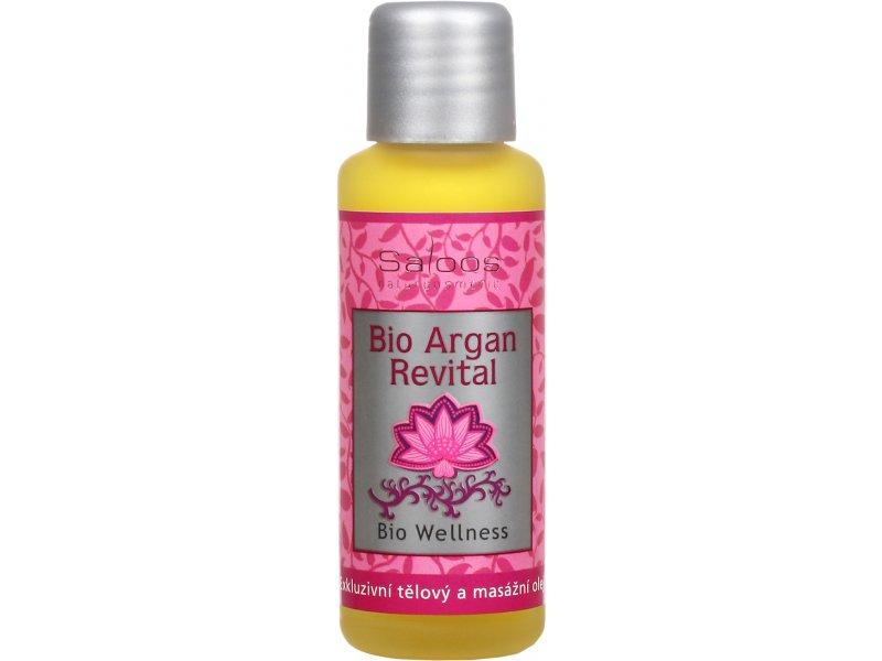 Argan Revital Wellness masážní olej Saloos 50ml, 125ml, 250ml, 500ml,