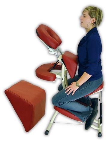 Podložka pod hrudník k masážní židli Prestige - Reh